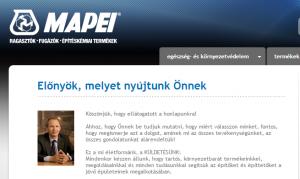 cégküldetés-Mapei-Kft